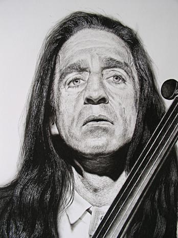Charcoal Drawing of Michael Kott